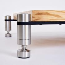 Quattron Reference Matte 120mm Maple/Stainless Steel